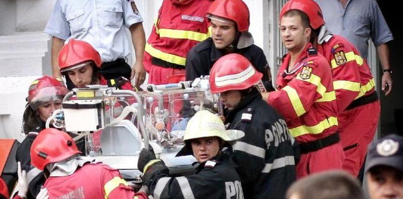 Incendiu la Maternitatea Giulesti: trei bebelusi au murit si alti opt sunt in stare grava