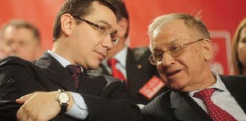 Ponta: Am depus la Senat cererea de revocare din functie a lui Geoana