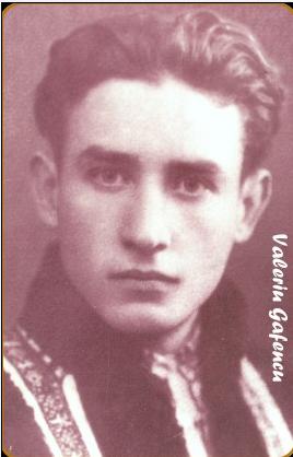 Valeriu Gafencu în tinereţe