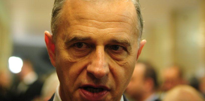 Mircea Geoana a pierdut presedintia Senatului